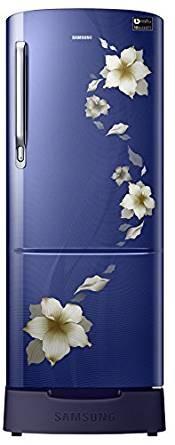 Samsung 212 L 4 Star Direct Cool  Refrigerator (RR22M287YU2/NL , Star Flower Blue)