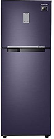Samsung 275 L 4 Star Frost-free Double Door Refrigerator (RT30M3744UT, Pebble Blue)