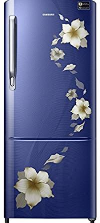Samsung 212 L 4 Star Direct Cool  Refrigerator (RR22M274YU2/NL , Star Flower Blue)