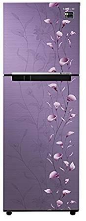 Samsung 253 L 2 Star Frost-free Double Door Refrigerator (RT28M3022PZ, Tender Lily Purple)