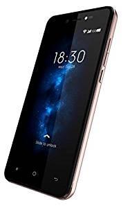 Videocon Graphite V45ED 4G VoLTE Android Smartphone-Rose Gold