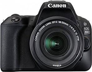 Canon EOS 200D 24.2MP Digital SLR Camera + EF-S 18-55mm f4 IS STM Lens