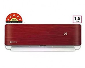 Koryo 1.5 T 5 Star Split AC RGKSIAO1818A5S RG18 With Hidden Display (Wine Red)