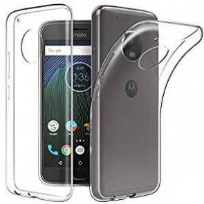 Motorola Moto G5s Plus Transparent Soft Back Case Cover